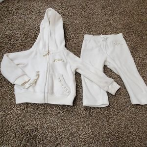 White JUICY tracksuit